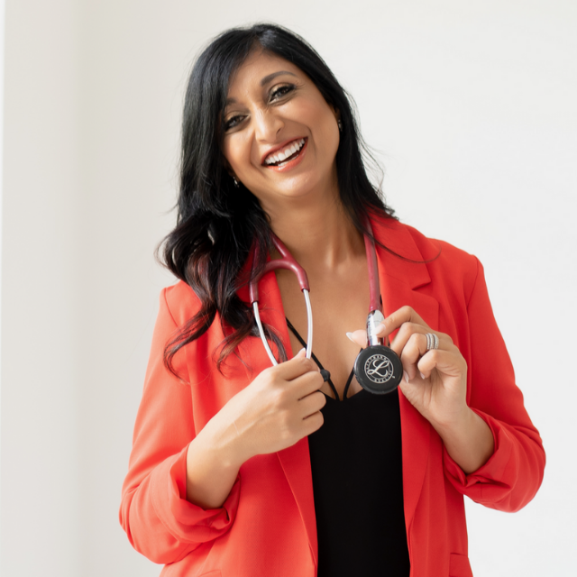 Dr Alka Patel, TEDx speaker, GP, Lifestyle Doctor, coach, author and podcaster